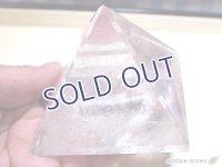 ブラジル産 水晶ピラミッド 底辺69mm 299g
