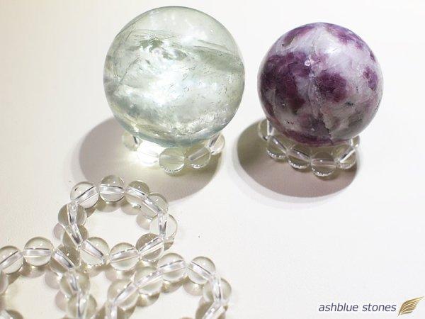 画像1: スフィア用水晶台座 6ミリ玉
