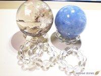 スフィア用 天然水晶台座 8ミリ玉