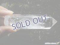 マダガスカル産レインボー水晶ポリッシュドポイント【3】96.5g