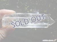 マダガスカル産レインボー水晶ポリッシュドポイント【2】95g