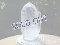 ブラジル産水晶ポイント レコードキーパー【4】86.8g