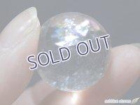 【約23mm】レインボー水晶 スフィア 16.7g【152】冬のレインボー水晶セール