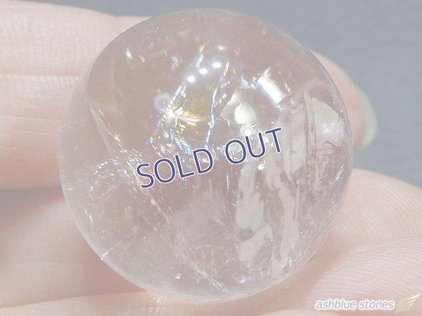 画像4: 【約23mm】レインボー水晶 スフィア 17.6g【143】冬のレインボー水晶セール