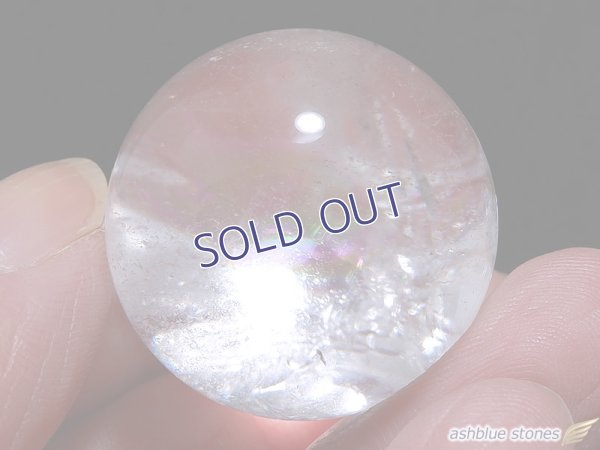 画像4: 【約26.5mm】レインボー水晶 スフィア 26g【125】冬のレインボー水晶セール