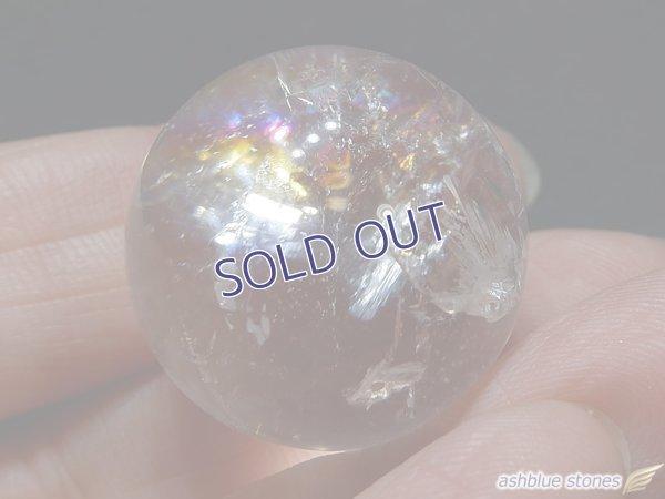 画像2: 【約23mm】レインボー水晶 スフィア 17.5g【146】冬のレインボー水晶セールA