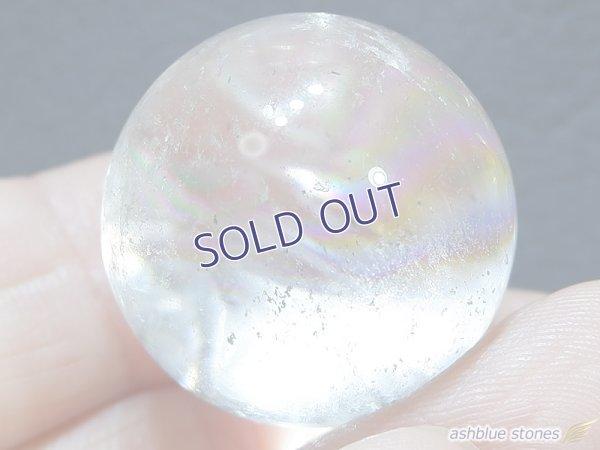 画像4: 【約23mm】レインボー水晶 スフィア ガーデン16.6g【153】冬のレインボー水晶セール