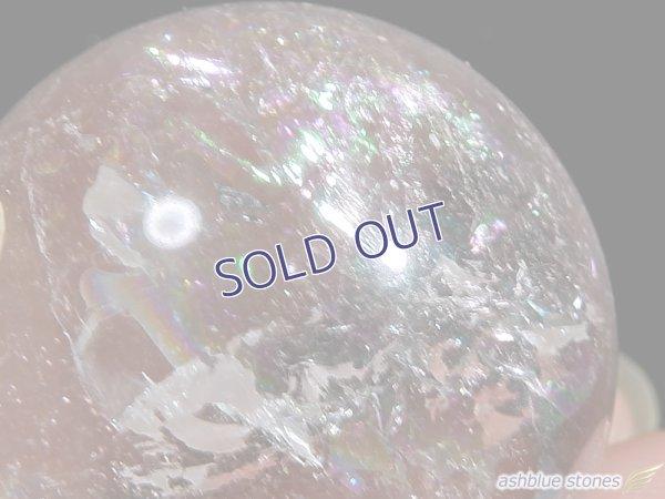 画像3: 【約26.5mm】レインボー水晶 スフィア 26g【125】冬のレインボー水晶セール