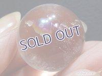 【約23mm】レインボー水晶 スフィア 17.5g【145】冬のレインボー水晶セール