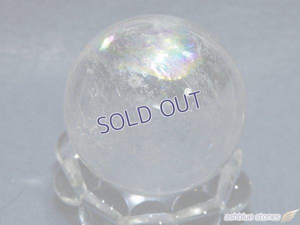 画像3: 【約23mm】レインボー水晶 スフィア 16.7g【152】冬のレインボー水晶セール