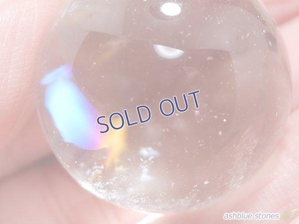 画像2: 【約24mm】レインボー水晶 スフィア 18.9g【140】冬のレインボー水晶セールA