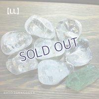 水晶タンブル(レインボー入り)【LLサイズ】30〜33g