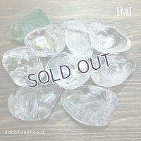 水晶タンブル(レインボー入り)【Mサイズ】20〜24g