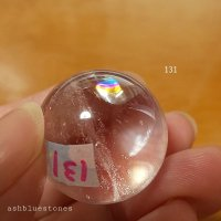 【約25mm】レインボー水晶 スフィア 22.7g【131】