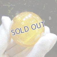 【約39.5mm】ゴールデンカルサイトスフィア 88.9g 【26】B