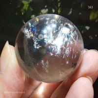 【約38mm】レインボー水晶 スフィア 78.4g【163】