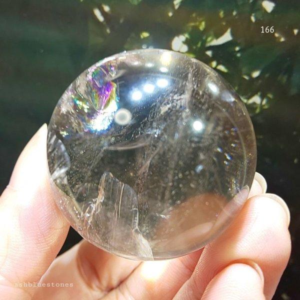 画像3: 【約40.5mm】レインボー水晶 スフィア 92.2g【166】