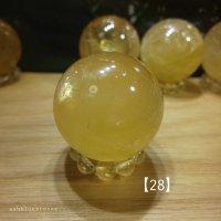 【約33mm】ゴールデンカルサイトスフィア 51.1g 【28】